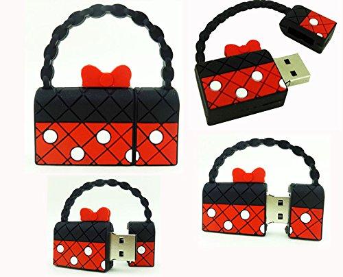 D-CLICK TM High Quality 4GB/8GB/16GB/32GB/64GB/Cool USB High Speed Flash Memory Stick Pen Drive Disk (8GB, Handbag)