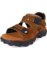 FBT Men's 16410 Tan Casual Sandals