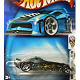 Mattel Hot Wheels 2004 First Editions 1:64 Scale Black F-Racer Die Cast Car #030