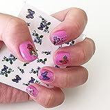 Nail Art Water Nail Stickers Water Transfer Stickers / Nail Art Tattoos / Nail Art Decals, Flowers & Butterflies...