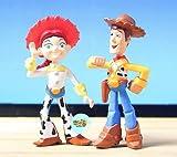 2013 New Arrival Hot Lots 8 Mini Toy Story 3 Buzz Lighter Woody Jessie Figures Dinosaur Lotso Dot Set &