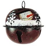 Christmas Decoration Metal Christmas Snowman Ball Ornament
