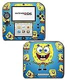 Spongebob Squarepants Sponge Bob Patrick Cartoon Video Game Vinyl Decal Skin Sticker Cover for Nintendo 2DS System Console Protector