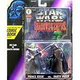 Star Wars Shadows Of The Empire Prince Xizor & Darth Vader Action Figure Set