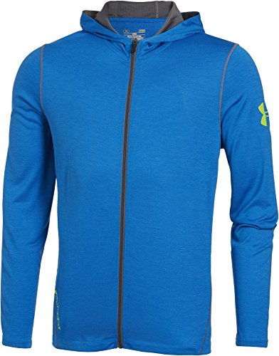 Under Armour Fitness - Sweatshirt Long Sleeve Tech FZ Hoody - Prenda, color azul, talla XL