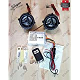 Motorcycle Anti Theft Alarm System With FM MP3 Sound 2 Speakers,Remote