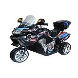 Saluja Toys Super Racer Bike Black/ Battery Operated Bike