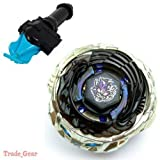 Bb122 Diablo Nemesis Beyblade Masters Fusion Metal Fight+grip+blue Spin Launcher