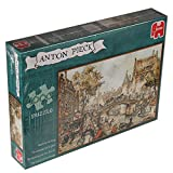 Jumbo Puzzle 1000 pieces - Coach on the bridge, Anton Pieck (code 617066)