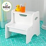 KidKraft Two Step Stool - White