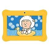 """iRULU BabyPad 1 Tablet (Y1), 7"""" Tablet para niños, 1GB RAM, 8GB Nand Flash Quad Core, Android 4.4 KitKat, Resolución: 1024*600, Color Amarillo"""