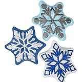 "5"" Snowflake Plush, Case Of 144"