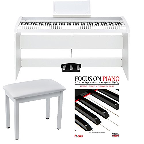 white korg digital piano