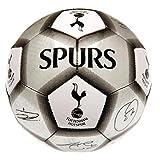 Tottenham Hotspur FC Football Team Size 5 Player Signature Ball - Silver