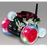 360 Mini Cyclone Wheel RC Super Spinning Monster Truck Stunt Car Remote Control Toy For Kids (Assort