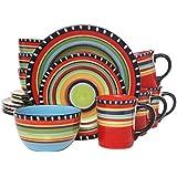 Amazon.com : Housewares International Ceramic 3-Bowl
