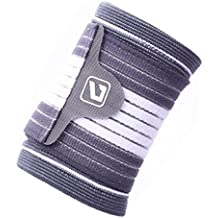 LiveupSPORTS Wrist Support Brace Straps With Adjustable Elastic Bandage Wraps For Weightlifting Tennis & Tendonitis...