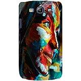 For Samsung Galaxy S3 I9300 :: Samsung I9305 Galaxy S III :: Samsung Galaxy S III LTE Colored Girl ( Colored Girl, Girl, Nice Girl, Cute Girl ) Printed Designer Back Case Cover By FashionCops