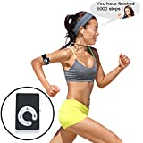 Sports MP3 Music Player With 3D Pedometer Auto Voice Prompts Accurate Step Counter Walking Distance Miles Km Calorie...