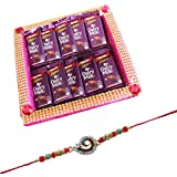 Rakhi With Chocolates For Brother