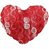 Tickles Red Beautiful Heart Shaped Cushion Valentine Gift Love Stuffed Soft Plush Toy Love Girl 25 Cm
