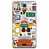 The Racoon Friends Printed Designer Hard Plastic Back Case For Sony Xperia ZR