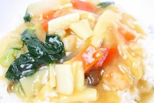 築地の王様 8品目の中華丼の具 1人前・180g×1パック 業務用冷凍食品