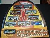Hot Wheels California Dreamin' HUGE 10 Car Set / 1:64 Scale - New and Sealed!!