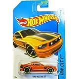 Hot Wheels - 2014 HW City 92/250 - Mustang 50 - Ford Mustang GT (orange)