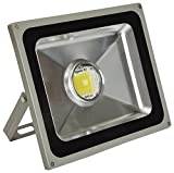 Jaz Deals Ultimate Outdoor 20Watts COB LED Flood Light With Special Lens For Brighter Light