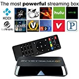 2015 SkyStreamX 4 Quad Core Android Smart TV Box - Android 4.4 & Gotham 13.1 XBMC Addons Preloaded - Streaming...