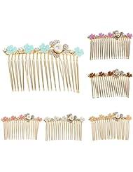 Phenovo South Korean Fashion Diamante Rhinestone Slide Comb Hair Accessories