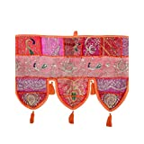 Rajrang Patchwork Cotton Door Hanging Decorative Toran Lace Work - B00NV82D44