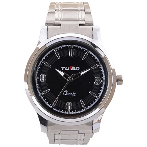 Turbo Youth Analogue Black Dial Men's Watch - R111-003M