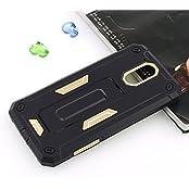 Febelo (TM) Unique Design Perfect Fitting Back Cover Case For Moto G Plus 4th Generation - Gold Color