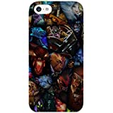 DOTA Heroes - Hard Back Case Cover For Apple IPhone 5/5s - Superior Matte Finish - HD Printed Cases And Covers