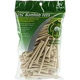 "JEF World Of Golf 717 2-3/4"" Bamboo Golf Tees (100 Pack), Natural"