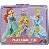 Disney Princess Playtime Tin With Handle - Activities Inside