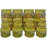 Sunpet Transperant PET Jar Set No. FR109520-24 - Set Of 24