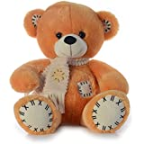 Dimpy Stuff Bear With Scarf, Brown (50cm)