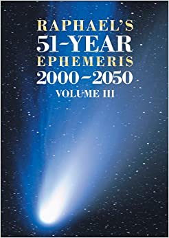 Download EBOOK Raphael's Astronomical Ephemeris of the Planets' Places for 2008 PDF for free
