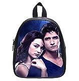 Teen Wolf Allison and Scott Custom Kid's Black Backpack School Bag (Small)