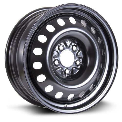 Steel Rim 17X7, 5×114.3, 71.5, +40, black finish (MULTI APPLICATION FITMENT)