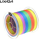 Generic 300M 50LB Colorful Strong 4 Strands Multifilament PE Braid Fishing Line Sea Carp Fishing Sea Fish Wire