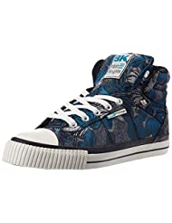 British Knights Women's Dee Navy And Grey Sneakers