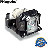 Mogobe Replacement Projector Bulb Lamp In Housing Fit HITACHI CP-WX12WN CP-X10WN CP-X11WN CP-X2021 CP-X2021 WN CP-X2021WN CP-X2521 CP-X2521WN CP-X3021WN DT01191