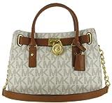 Michael Kors EW Satchel Women's MK Logo Handbag Tote Purse
