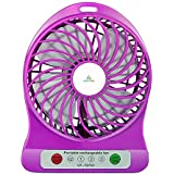Royal Powerful Portable Wireless Rechargeable Mini USB Fan With 2200 MAh Lithium-ion Battery Inside