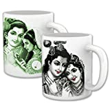 Radha And Krishna_Great Gift For In Laws_Set Of Two Mugs