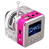 soled Rose Mini Digital Portable Music MP3/4 Player TF Card USB Disk Excellent sound quality